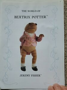 The World Of Beatrix Potter Soft Toy Knitting Patterns