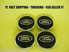 4 X Black Chrome Wheel Center Cap Hub Caps For Land Rover LR2-LR3-LR4