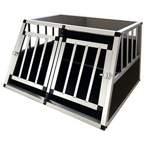 ALU HundeBox Transportbox Reisebox Hundebox Autotransportbox Gitterbox YX2