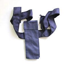 Naruto Ninja weapon dark blue single bag Cosplay Accessory