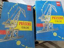 2 Stück TRIX Metallbaukasten Präsent 8955