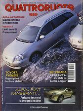 QUATTRORUOTE N° 570 APRILE 2003 - PROVA KIA RIO LANCIA THESIS OPEL VECTRA