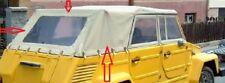 VW 181, nouvelle édition capote tissu, Sable, capote, tissu capote