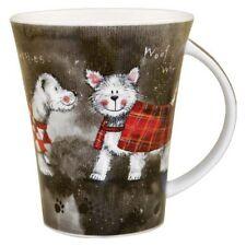 Alex Clark Dogs Yorkie Westie Terrier Mug - Fine Bone China - gift box available