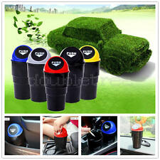 Portable Mini Auto Car Vehicle Trash Garbage Dust Rubbish Can Box Bin Holder