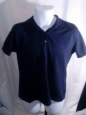 Men's Nike Golf Dri-Fit Shirt. Dark navy blue, Netezza & Nike sleeve logos. EUC