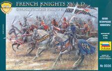 Zvezda 1/72 French Knights Plastic Model Kit 8036