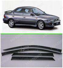 Deflectors For Subaru Impreza I Windows Rain Sun Visors Weather shields1992-2000