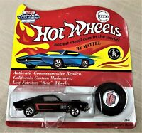 Hot Wheels Greater Seattle Toy Show 1995 Black Mustang with Button LTD ED 10,000