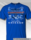 Chicago Cubs 2016 Road to Championship Shirt, 100% Cotton