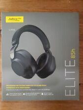 Jabra Elite 85h Wireless Noise-Canceling Over Ear Headphones, Titanium Black