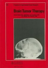 NEW - Brain Tumor Therapy (Progress in Tumor Research, Vol. 28)