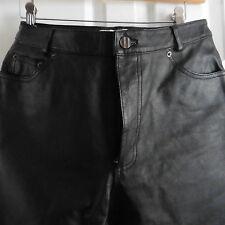 NWOT Bagatelle Black Leather Pants for Women, 10