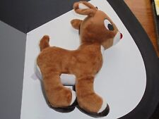 Rudolph the Red Nosed Reindeer Plush Toy Stuffed Animal Christmas Decor