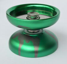 Acid Reflect Unresponsive Professional Yo-Yo 2018 Annodized Aluminum Green Gray