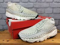 NIKE MENS UK 8 EU 42.5 AIR FOOTSCAPE WOVEN HAIRY SUEDE CHUKKA TRAINERS RRP £130