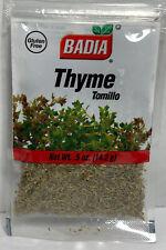 Badia®Ground Thyme Leaves,Tomillo .5oz Mediterranean Slow Cooking Italian KOSHER