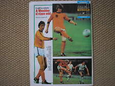 GUERIN SPORTIVO 1977 COVER CRUIJFF PETERS KIST ENGLAND V NETHERLANDS WEMBLEY
