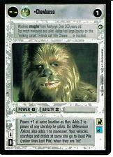 STAR WARS CCG A NEW HOPE BLACK BORDER CHEWBACCA