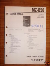 Service-Manual Sony MZ-B50  Minidisk Walkman,ORIGIN