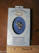 "R$6.99 ea Get Free Shipping Angel ""Angel of Love"" Pin"