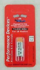 JR Single Conversion 72Mhz FM Transmitter/Receiver Crystal Set Channel 52 72.830