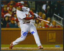 Jeff Suppan Signed NLCS Game 3 Home Run 8x10 Steiner COA St. Louis Cardinals