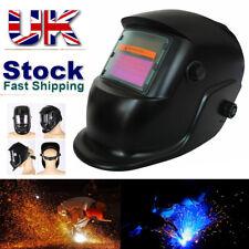Welding Mask Helmet Auto Darkening Solar Powered Welders ARC TIG MIG Grinding UK