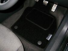 Black Edition Car Mats To Fit Audi A4 B6 Convertible S-Line (2002-2006) + Logos