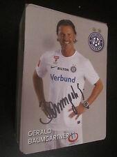 38532 Gerald Baumgartner Austria Wien original signierte Autogrammkarte