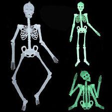 Halloween Luminous Human Skeleton Hanging Decoration Party Scary Skull Decor