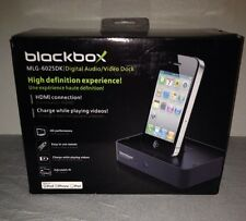 BlackBox Digital AV Dock via HDMI for Apple iPod iPhone iPad MLG-6025DK