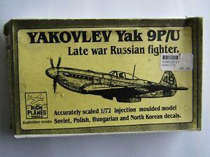 HIGH PLANES Yakovlev Yak 9P/U Late War Russian Fighter 1/72 Scale