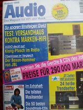 AUDIO 8/95,QUASAR ANTARES,ETON 303,INFINITY KAPPA 8.2.EXPOLINEAR T 300 2,JBL L90