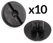 10x Clips For Vauxhall Astra G Corsa C Headlight Fastener Retainer Black Plastic