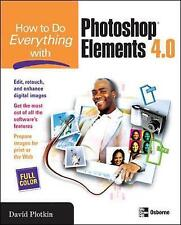 Very Good, How to Do Everything with Photoshop Elements, David Plotkin, Book