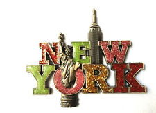 NYC Empire Building Statue of Liberty NY Souvenir Gift Fridge Magnets 06B