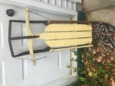 vintage antique sled with runners