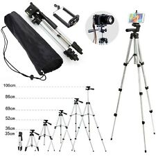 Tripod Camera Digital Professional Dslr Stand Nikon Camcorder Head Canon Sony UK
