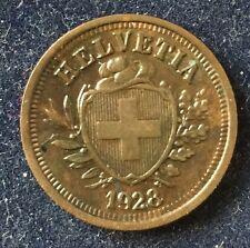 1 Rappen 1928 B Schweiz