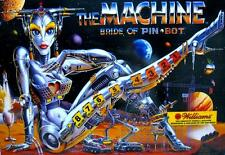 Update Pinball Mise à Jour Flipper THE MACHINE Williams