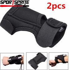 2X TrustFire Arm Flashlight Holster Wrist Pouch Accessory Outdoor Black DE