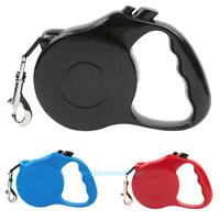 Pet Dog Cat Puppy Automatic Retractable Traction Rope Walking Lead Leash Plastic