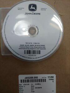 TM110719CD JOHN DEERE 9360R 9410R 9460R 9510R 9560R  TRACTOR REPAIR  MANUAL