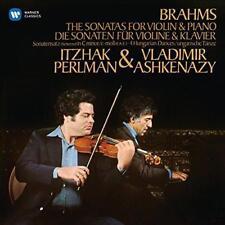 Itzhak Perlman - Brahms: Violin Sonatas Nos 1 - 3 & 4 Hungarian Dances (NEW 2CD)