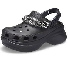 Crocs - Womens - Classic - Bae Clog - Black Chain - Platform Crocs