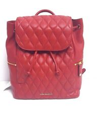 Vera Bradley Quilted Leather Amy Backpack (Tango Red)