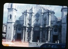 1950s red border Kodachrome photo slide Havana Cuba #5