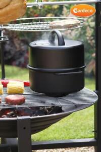 Garden Smoker pan. Suitable for use on BBQ, fire pit, chimenea. Outdoor cooking