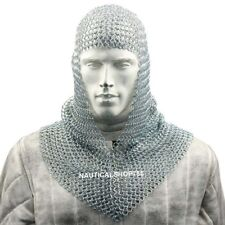 Armour Chainmail Hood For Battle Reenactment Halloween Costume